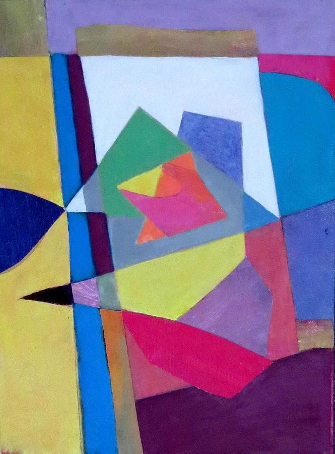 Abstract Angles II Mixed Media