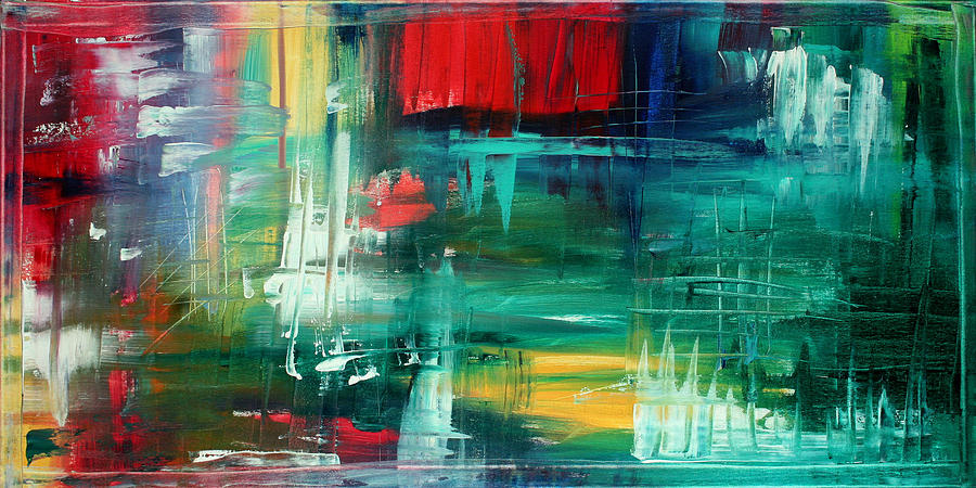 Abstract Art Colorful Original Painting Bold And Beautiful By Madart Painting