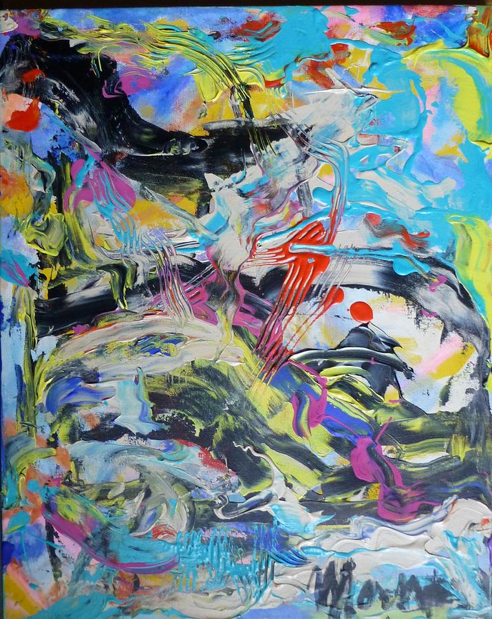 Abstract Ascension Painting