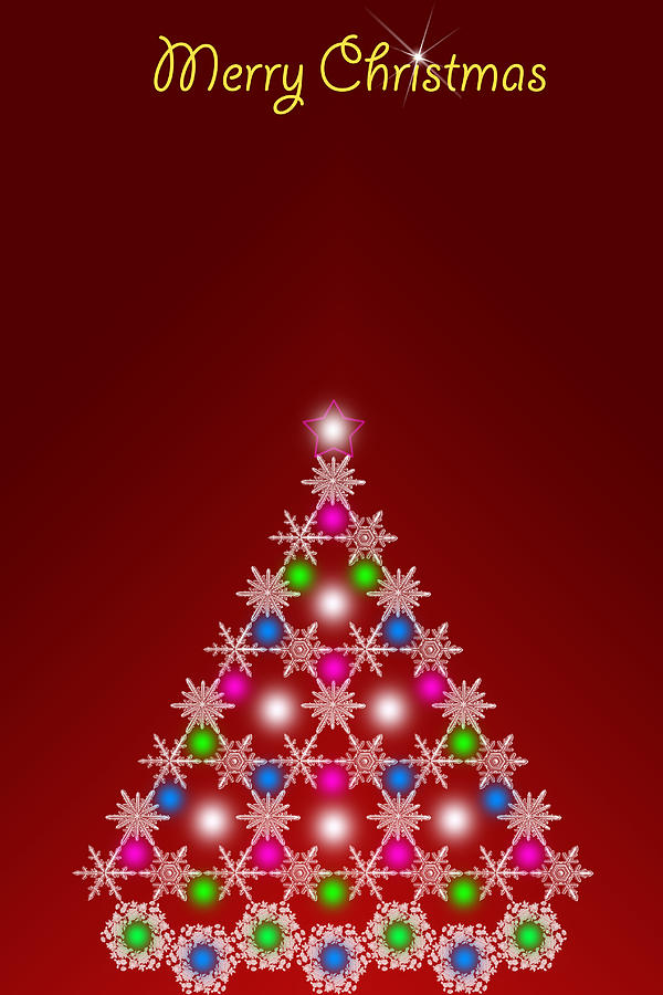 digital art christmas tree - photo #45