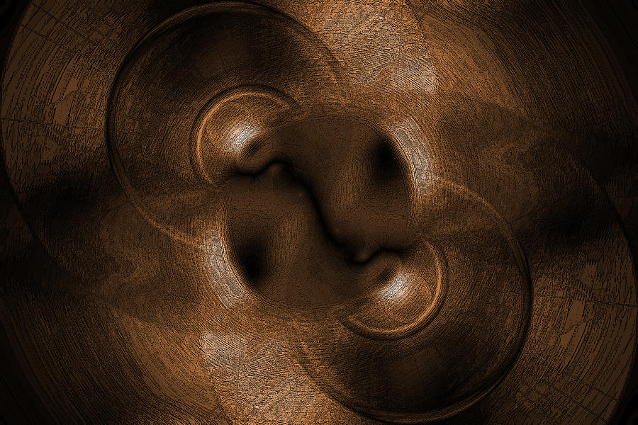 Abstract Circles Digital Art