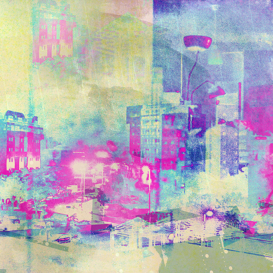 Abstract City Photograph  - Abstract City Fine Art Print