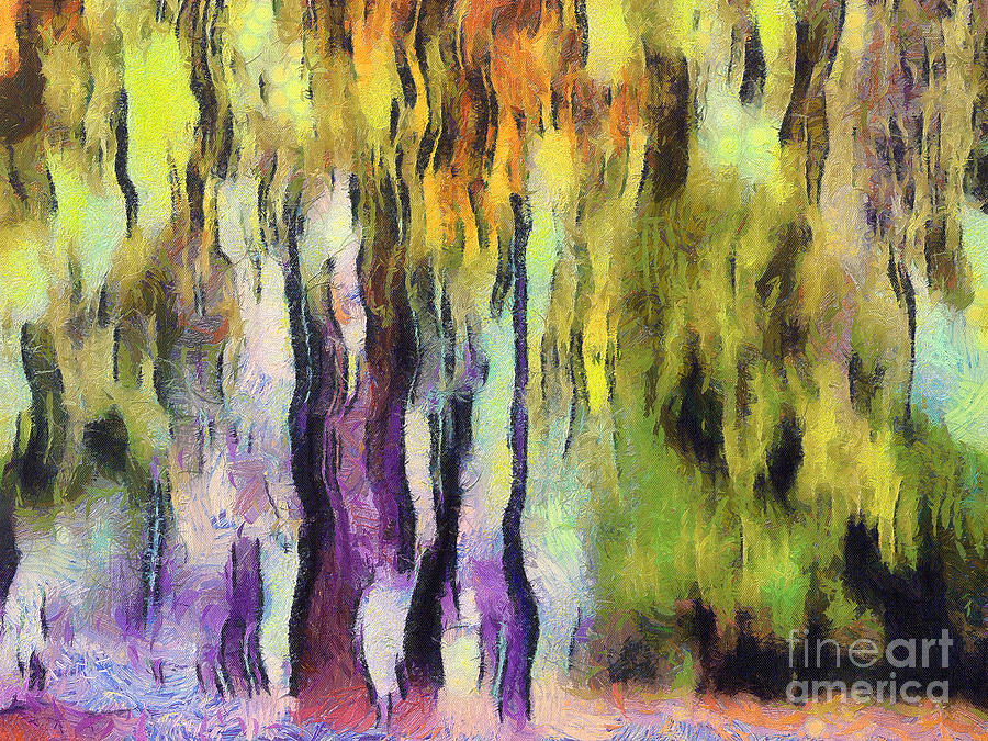 Abstract Colors Painting  - Abstract Colors Fine Art Print