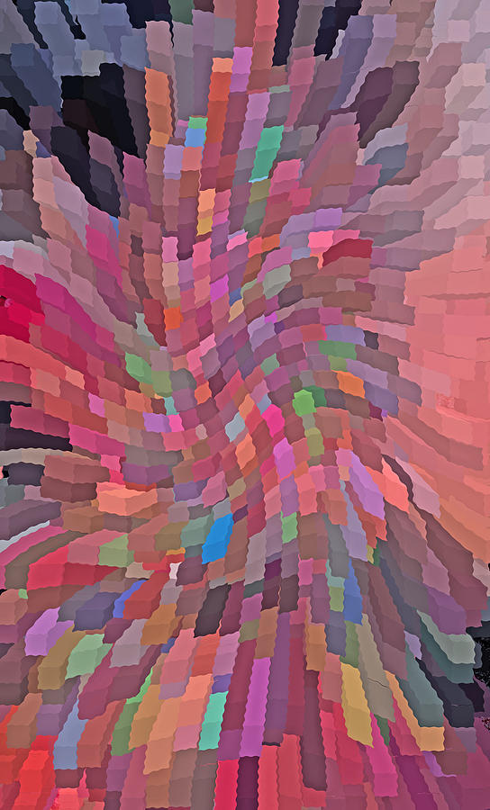 Digital_art Photograph - Abstract  Digital  Art by Carl Deaville