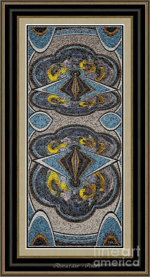 Abstract Door  Adoor000002 Painting