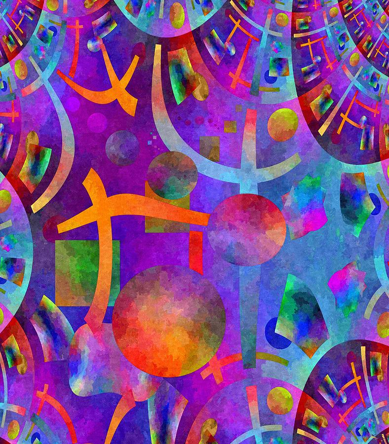 Abstract Fractillious - Episode One  Southwestern Digital Art