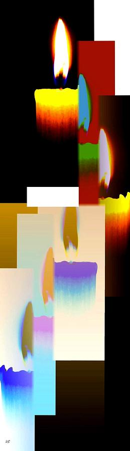 Abstract Fusion Digital Art - Abstract Fusion 185 by Will Borden