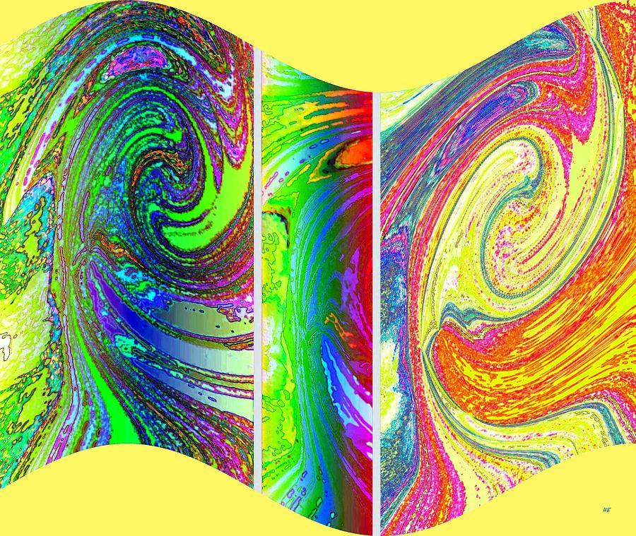 Abstract Fusion 188 Digital Art
