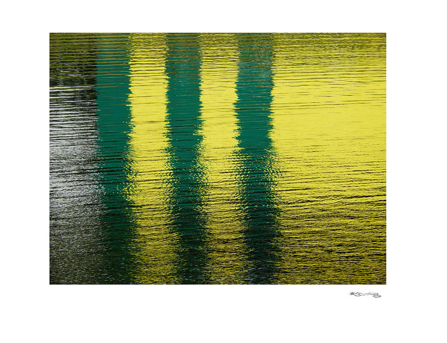 Abstract Lake Reflections 2 Photograph  - Abstract Lake Reflections 2 Fine Art Print