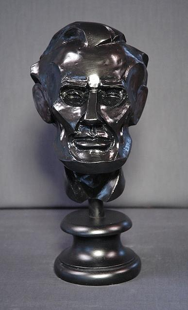 abstract Lincoln Sculpture