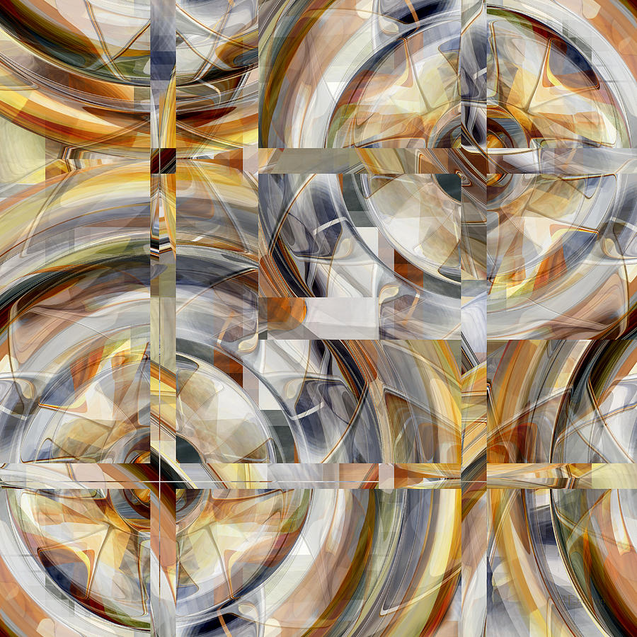 Abstract Number 031 - Digital Art Digital Art