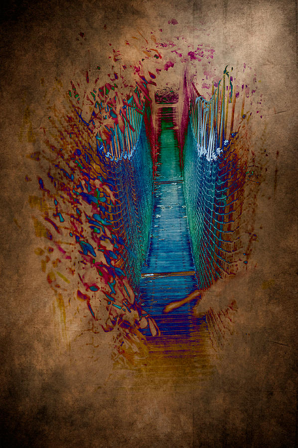 Loriental Photograph - Abstract Path by Loriental Photography
