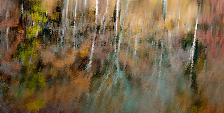 Abstract Reflection Photograph