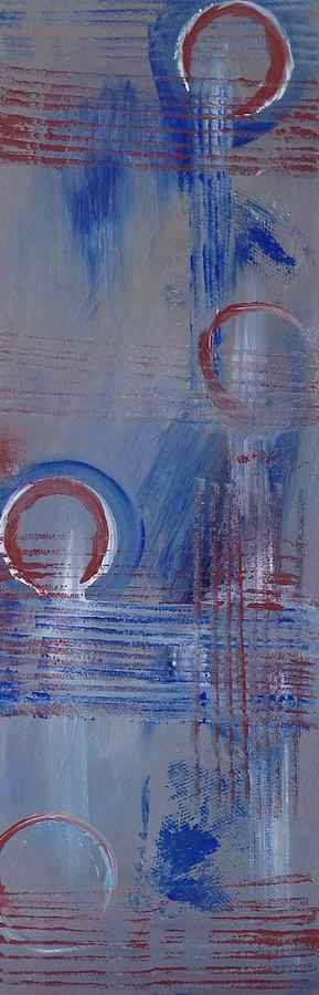 Abstract Rings Painting