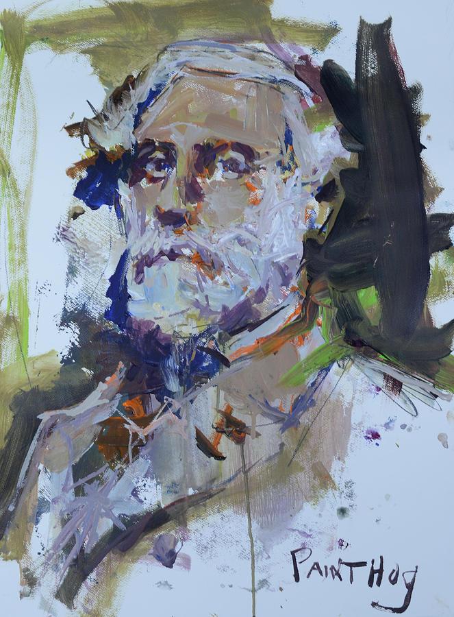 abstract robert e lee painting painting by robert joyner
