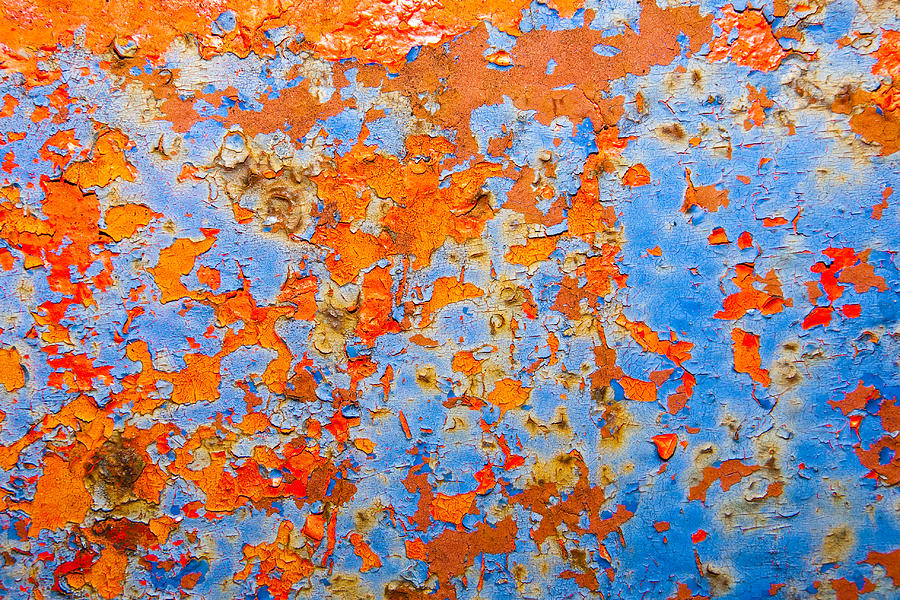 Abstract - Rust And Metal Series Photograph  - Abstract - Rust And Metal Series Fine Art Print