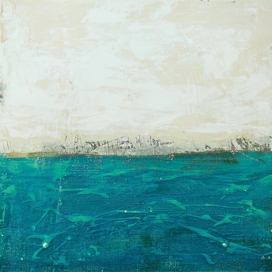 Abstract Seascape 02/14b Digital Art