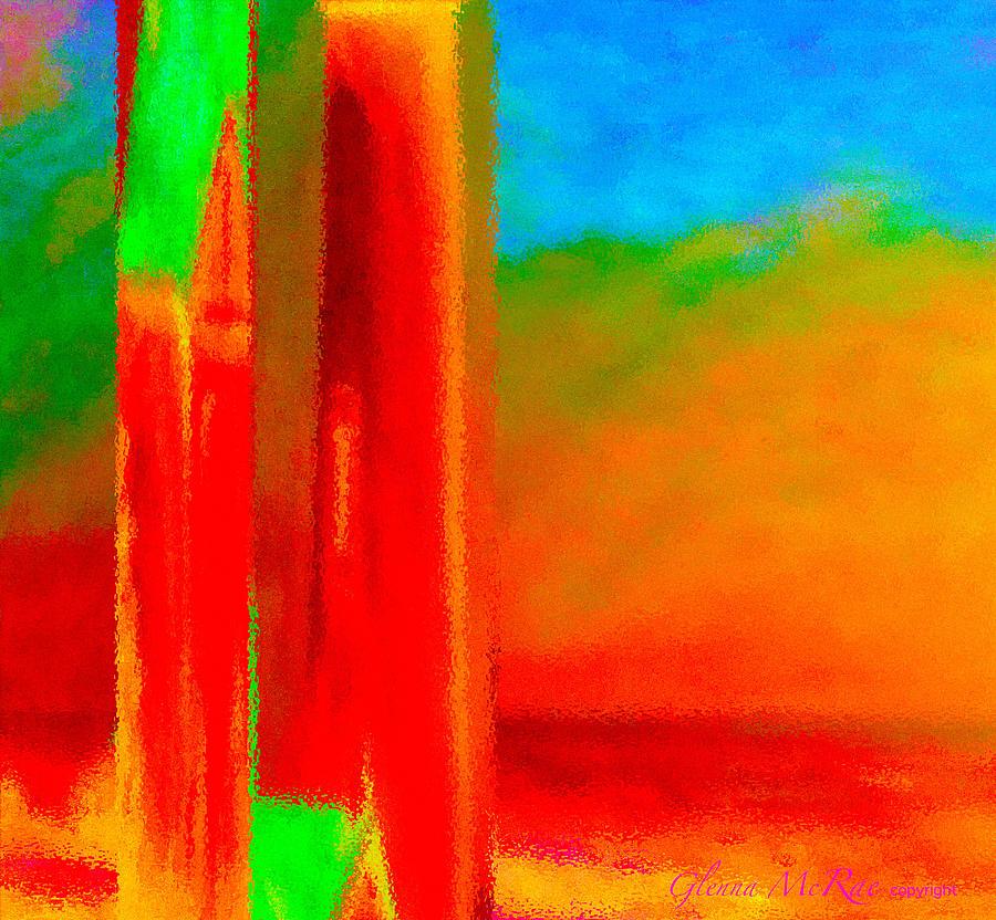Abstract Splendor II Painting