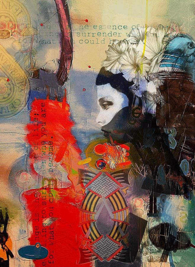 Abstract Tarot Art 011 Painting