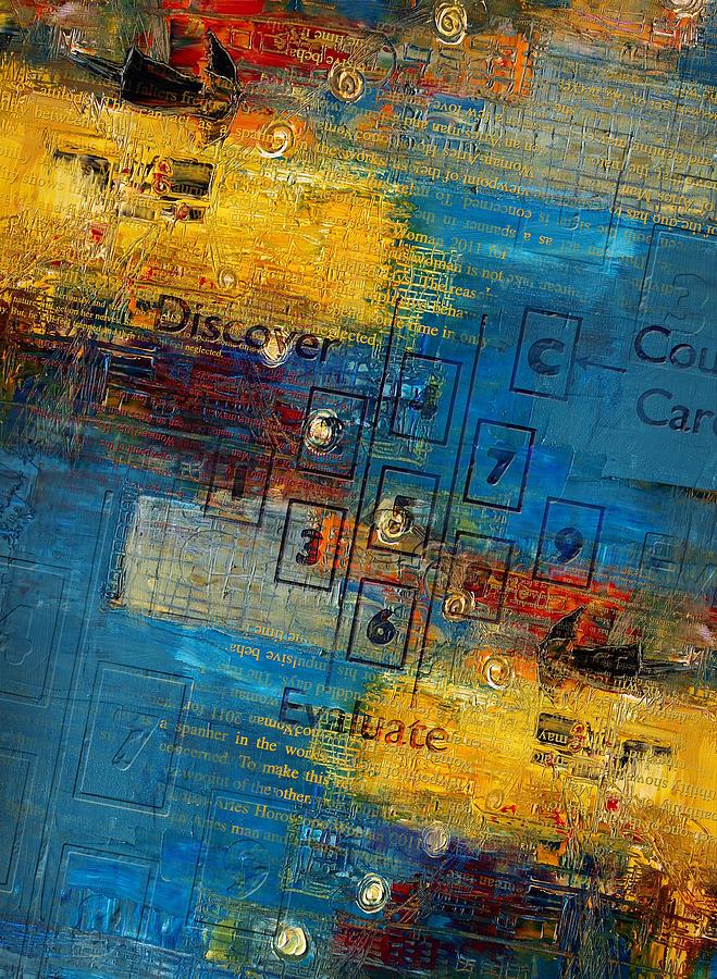 Abstract Tarot Art 016 Painting