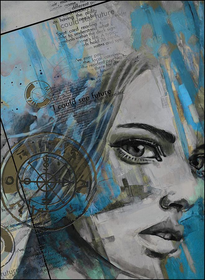 Abstract Tarot Art 022c Painting
