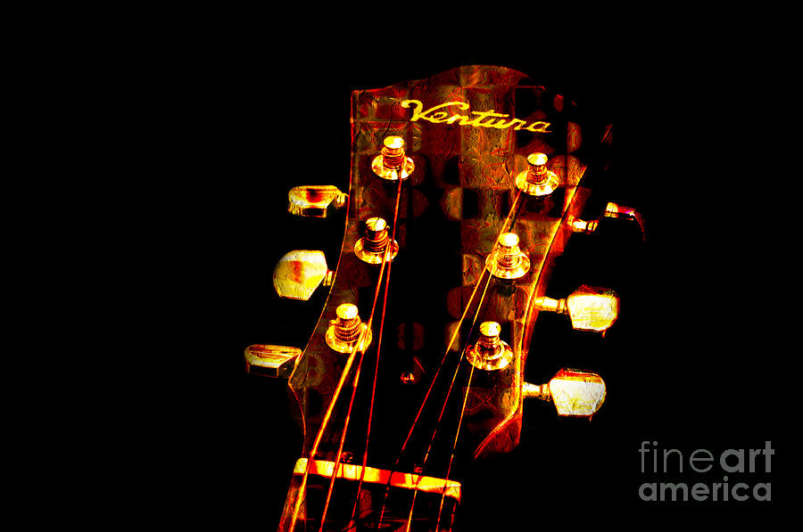 Abstract Photograph - Abstract - Ventura Highway - Guitar - Musician ...