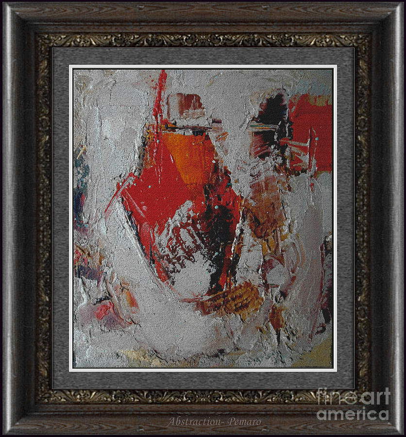 Still Life  Painting - Abstraction Abstr2 by Pemaro