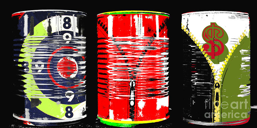 Abundance In A Can Pop Art Print Digital Art  - Abundance In A Can Pop Art Print Fine Art Print
