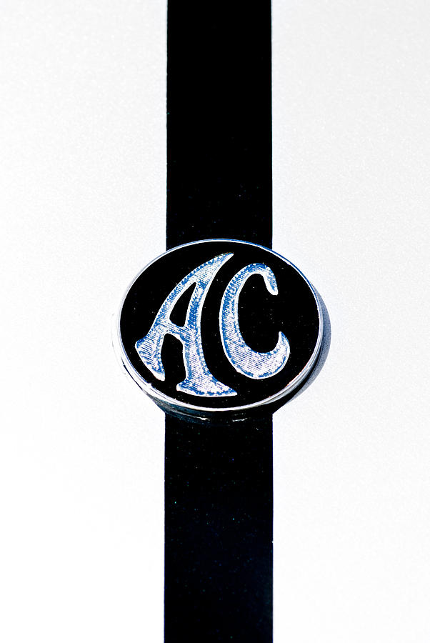 Ac Cobra Badge Photograph  - Ac Cobra Badge Fine Art Print