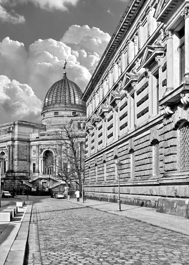 Academy Of Arts Dresden Photograph  - Academy Of Arts Dresden Fine Art Print
