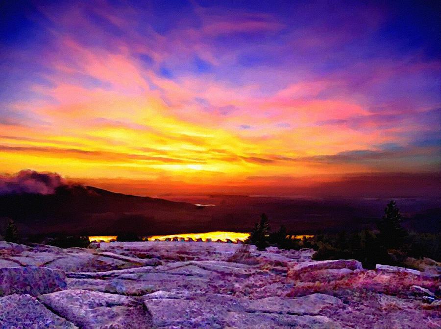 acadia national park cadillac mountain sunrise forsale is a photograph. Cars Review. Best American Auto & Cars Review