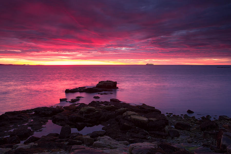 Acadia Sunrise  Photograph