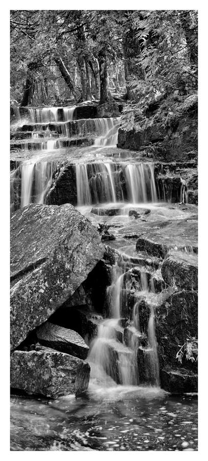 Acadian Waterfall Photograph