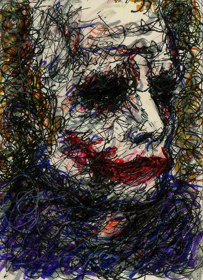 Aceo Joker I Drawing