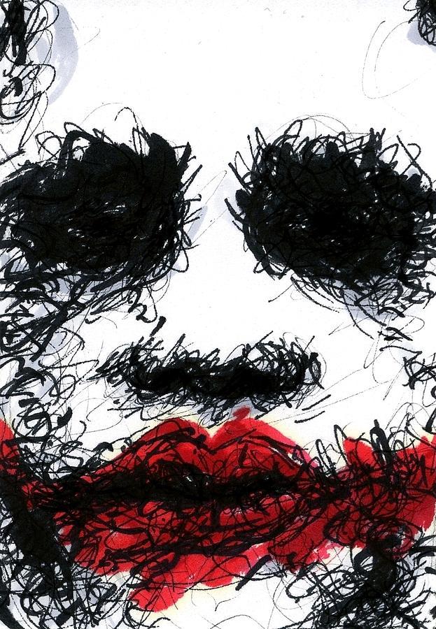 Aceo Joker IIi Drawing