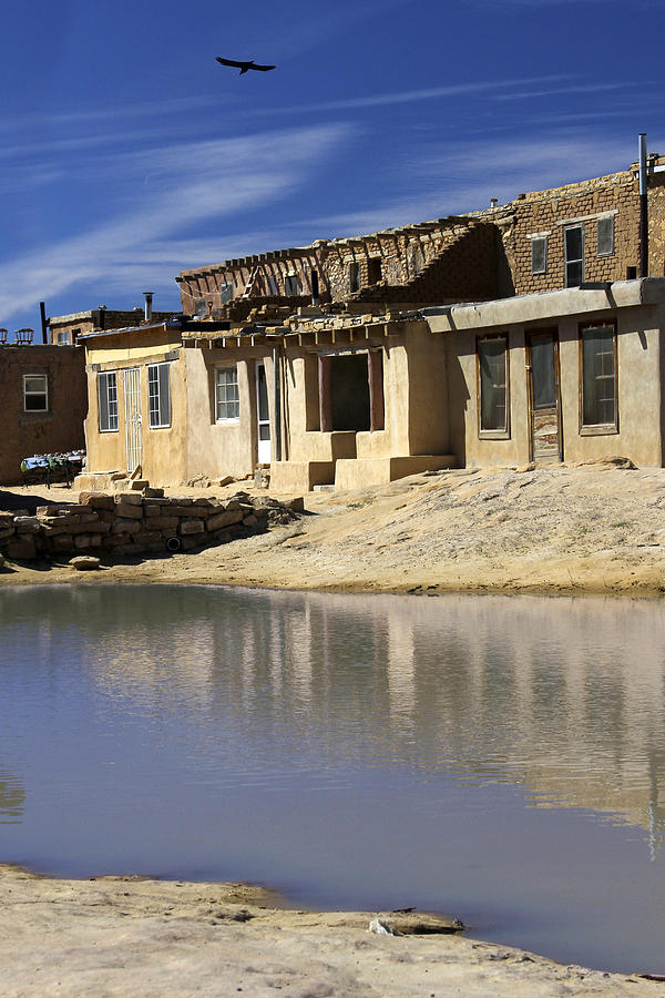 Acoma Pueblo Adobe Homes 2 Photograph By Mike Mcglothlen