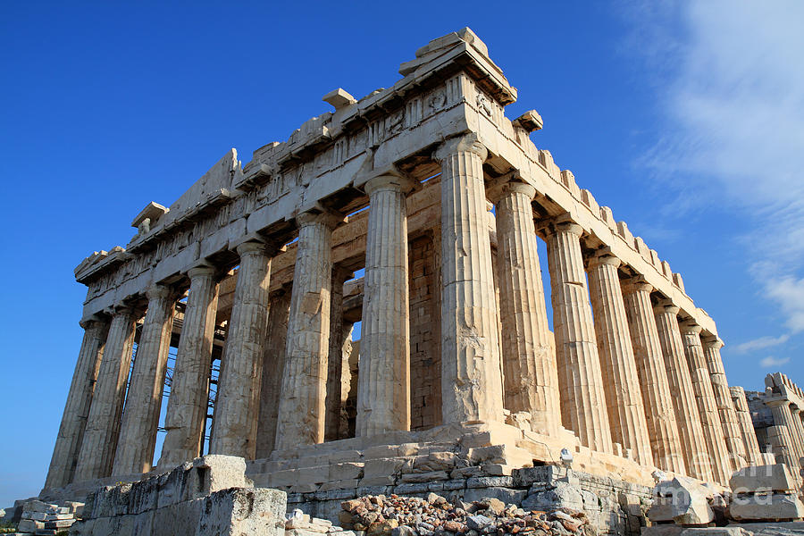 Acropolis Of Athnes Photograph