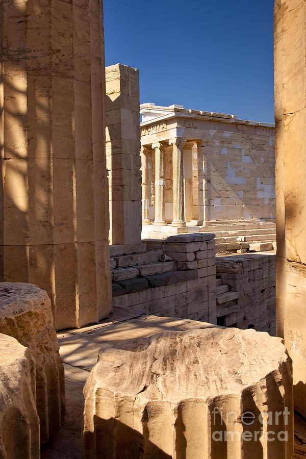 Acropolis Temple Photograph