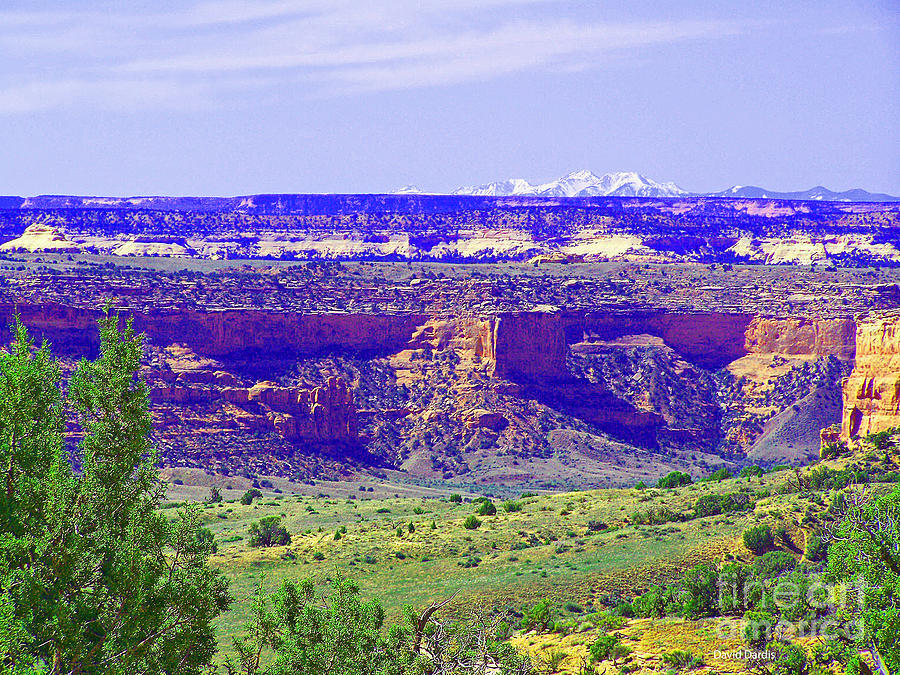 Across The Canyons Photograph  - Across The Canyons Fine Art Print