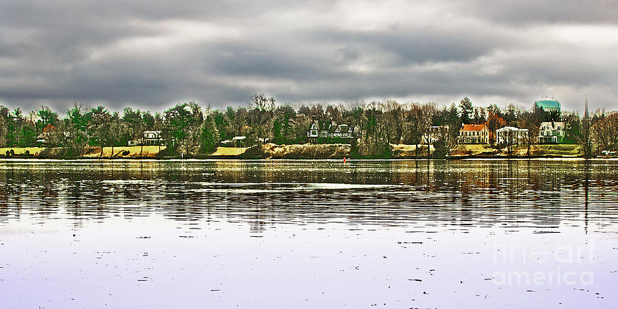 Across The Delaware River Photograph  - Across The Delaware River Fine Art Print