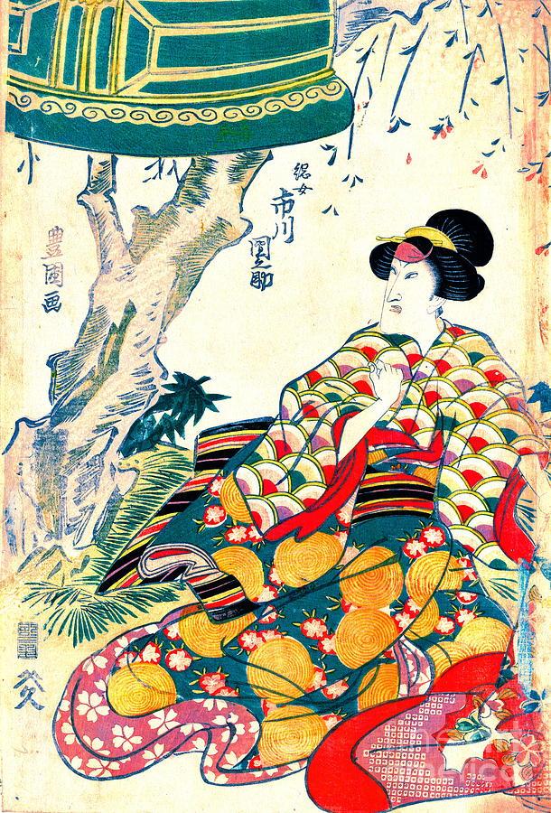Actor Ichikawa Dannosuke 1809 Photograph - Actor Ichikawa Dannosuke 1809 by Padre Art