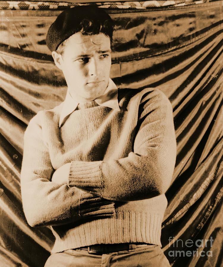 Actor Marlon Brando 1948 Photograph