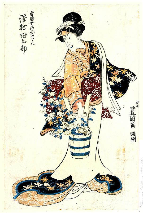 Actor Sawamura Tanosuke 1810 Photograph