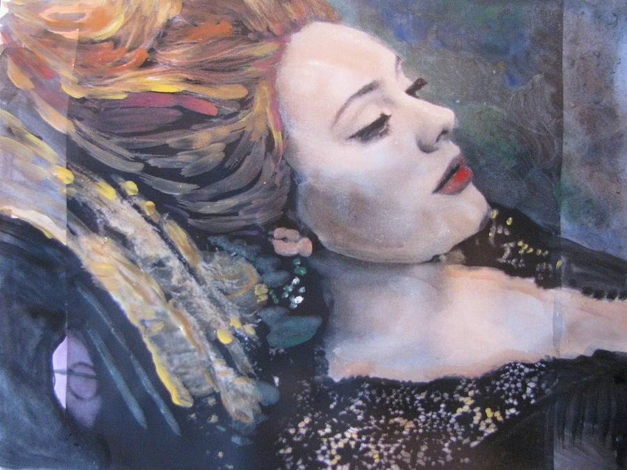 Adele Skyfall Painting