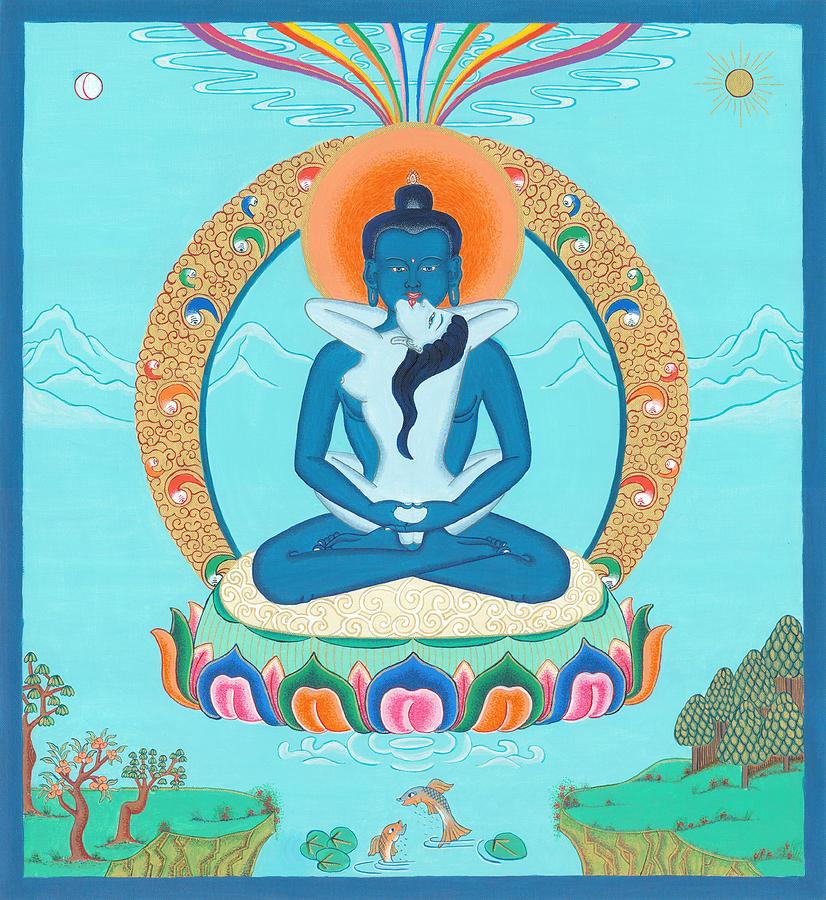 Adi Buddha Painting