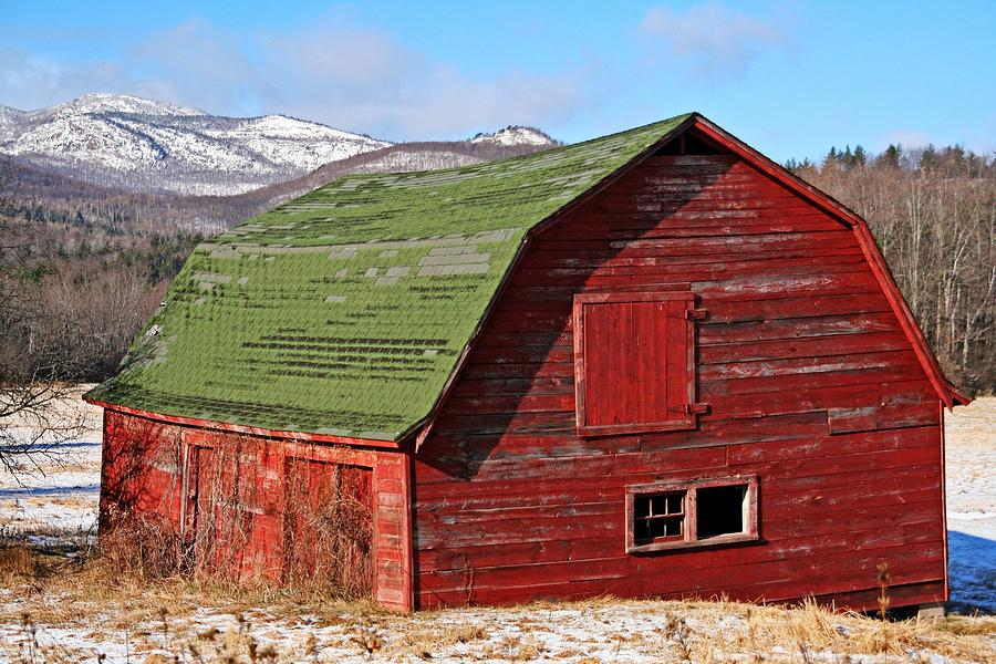 Adirondack Barn Photograph