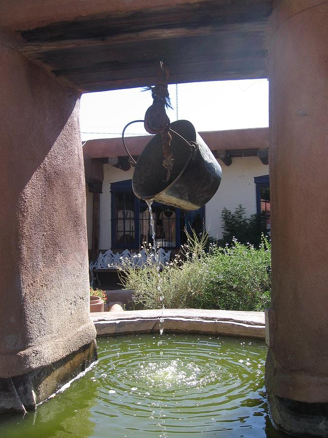 Adobe Water Well Photograph