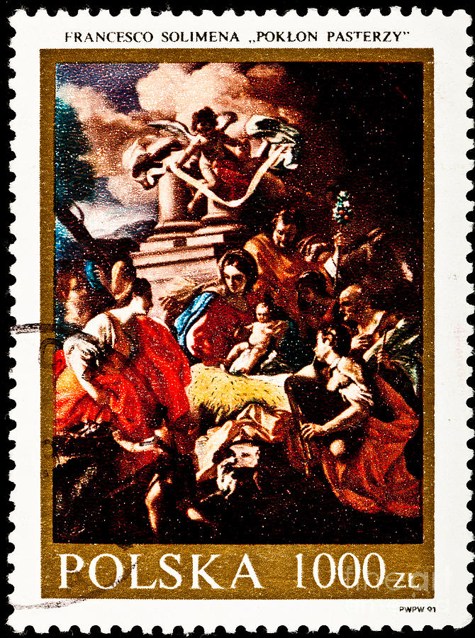 Adoration Of The Shepherds  Photograph