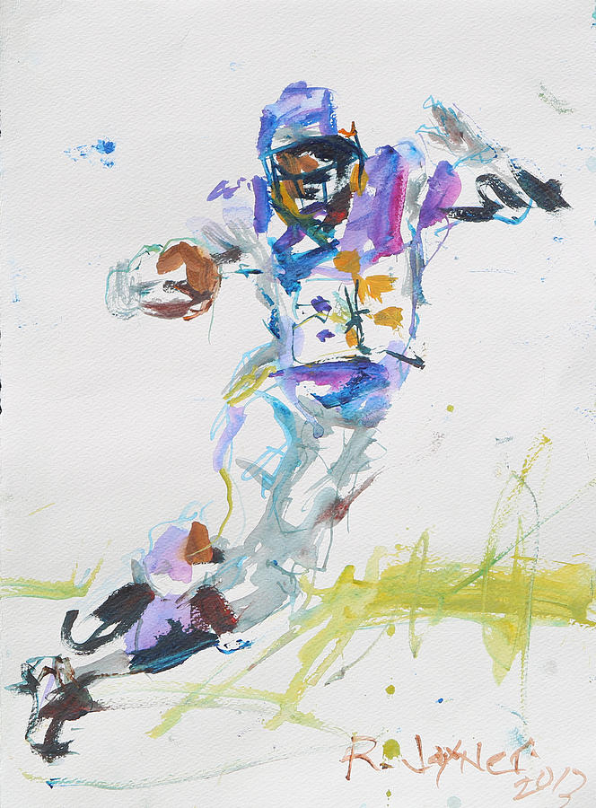 Adrian Peterson Painting