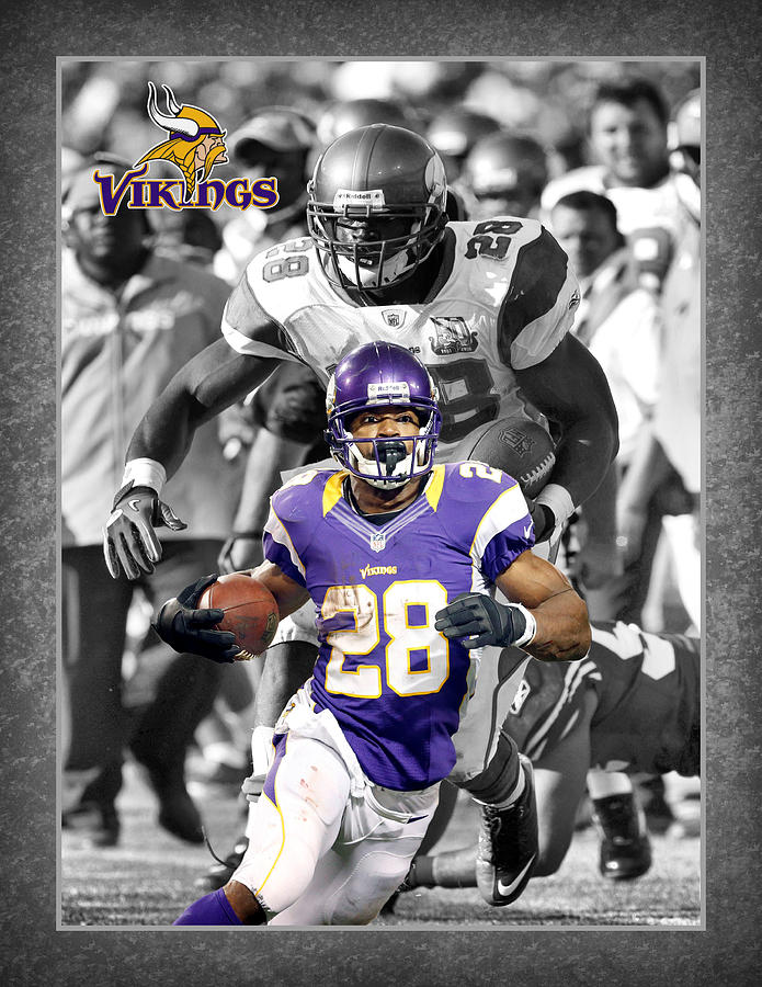 Adrian Peterson Vikings Photograph